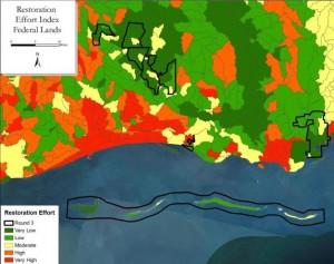 Habitat Restoration Federal Lands Program Phase I